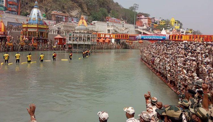 సురక్షితంగా మహాకుంభ్ ఉత్సవం.. హరిద్వార్లో భద్రతాబలగాల ప్రతిజ్ఞ