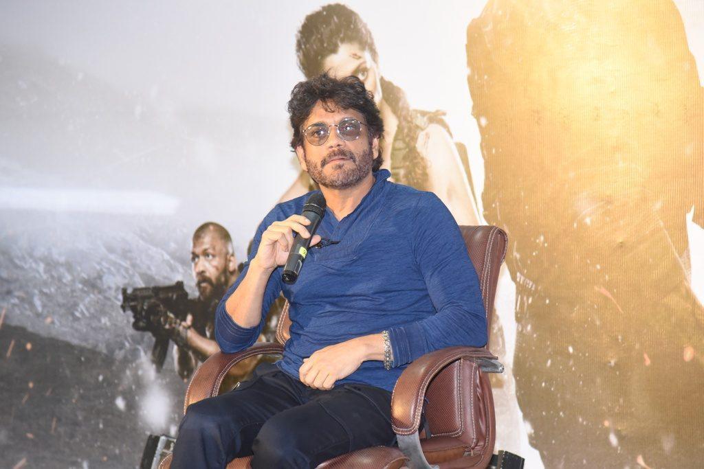 Nagarjuna Wild Dog Movie Press meet photos