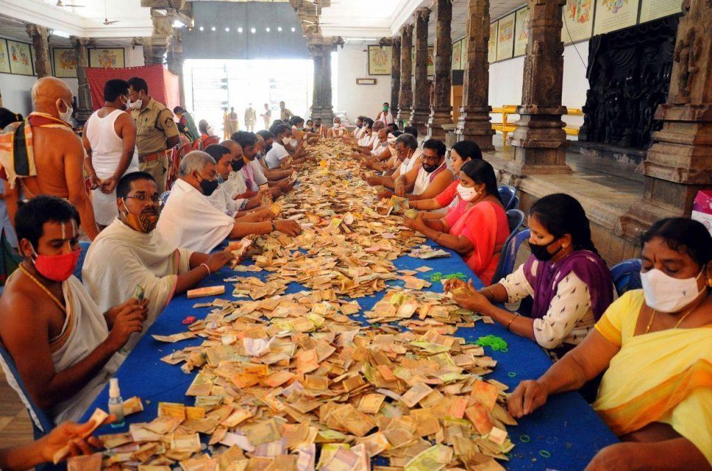 భద్రాచలం రాములోరి హుండీ ఆదాయం రూ.1.08 కోట్లు