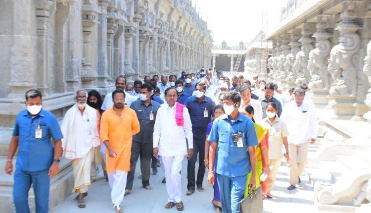 మే మాసంలో యాదాద్రి ఆలయం పునఃప్రారంభం : సీఎం కేసీఆర్
