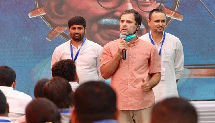 కాంగ్రెస్లో ఉంటే జ్యోతిరాధిత్య సింథియా సీఎం అయ్యేవారు : రాహుల్ గాంధీ