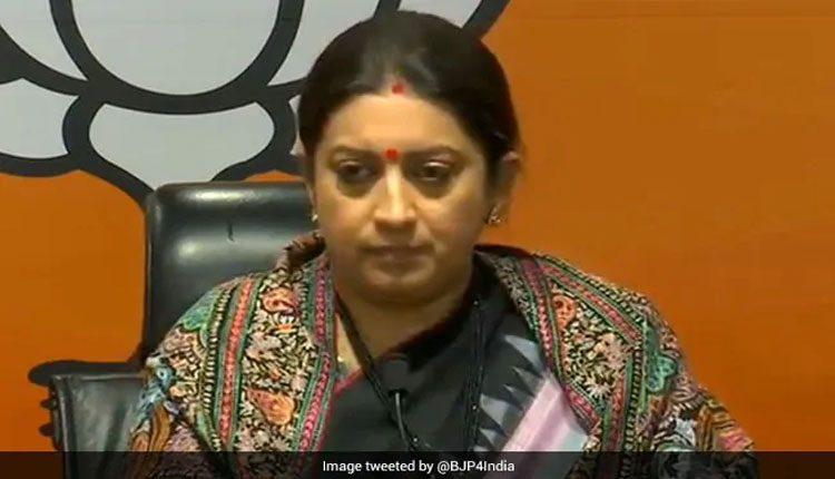 కమల్ జీ..బీజేపీ అభ్యర్ధితో చర్చకు రండి : స్మృతి ఇరానీ