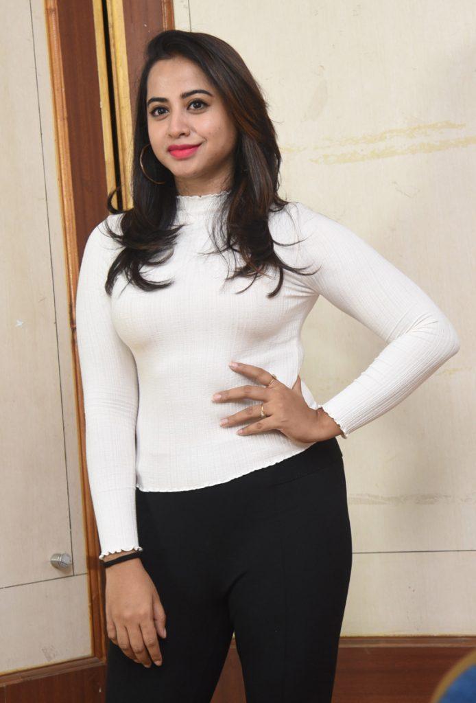 Actress Swathi Deekshith Stills at RGV Deyyam Movie Press Meet
