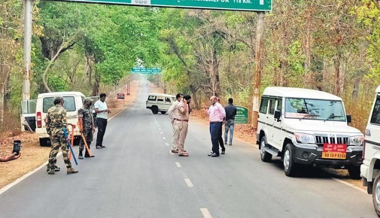 ఛత్తీస్గఢ్తో సరిహద్దులు మూసివేసిన ఒడిశా