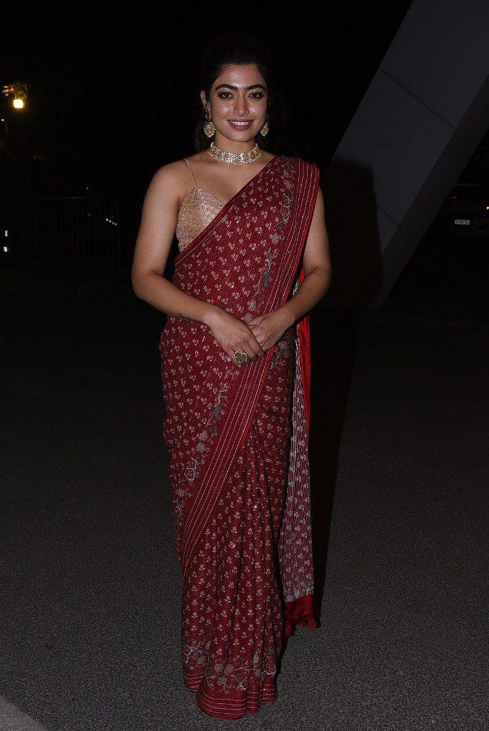 Rashmika Mandanna | చీరలో అదరగొట్టిన రష్మిక మందన