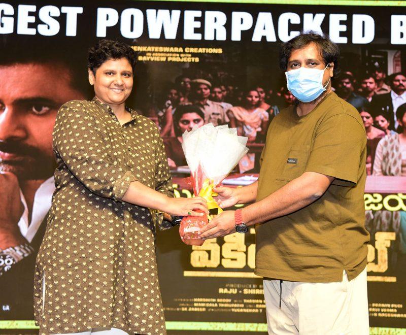 Vakeel Saab Team celebrates Maguva Idhi Nee Vijayam Event