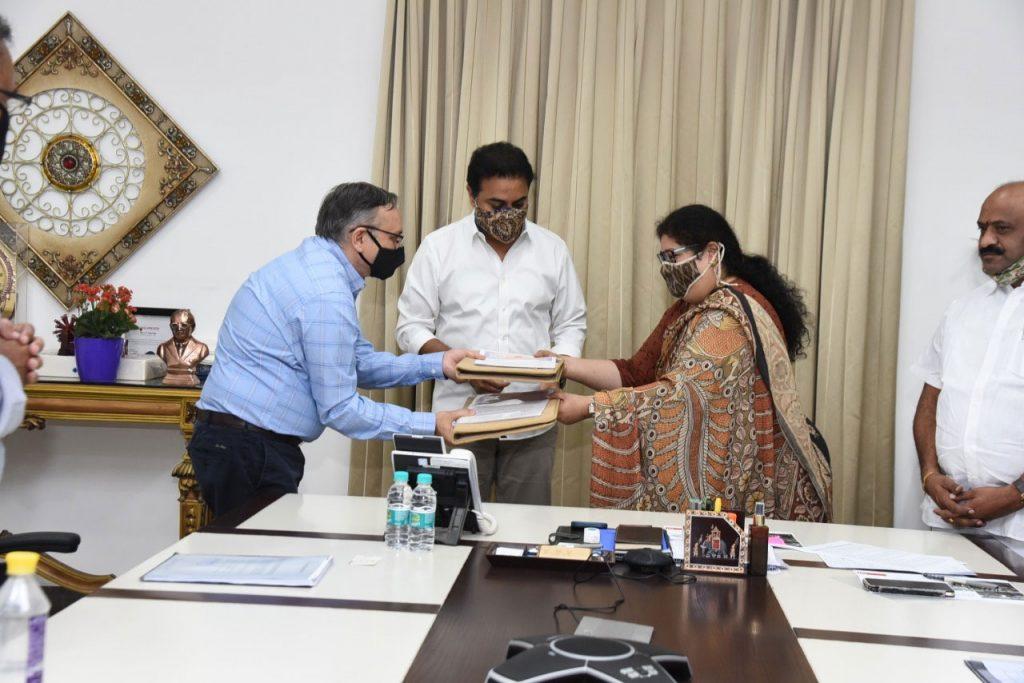 తెలంగాణ రాష్ట్రానికి మరో టెక్స్ టైల్  పరిశ్రమ
