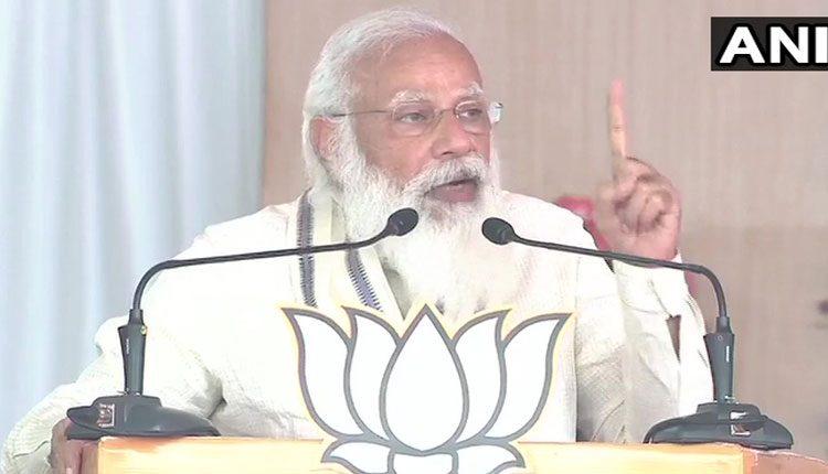 కాంగ్రెస్, డీఎంకేలకు మహిళలంటే గౌరవం లేదు: ప్రధాని మోదీ