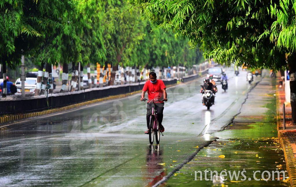 హైదరాబాద్లో చిరుజల్లు