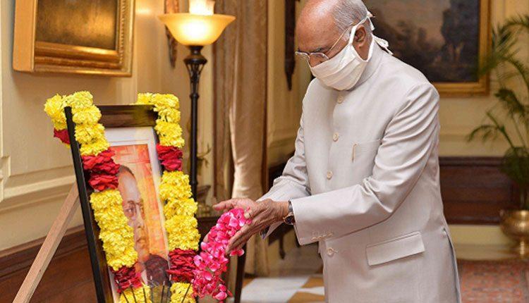 బాబాసాహెబ్ అంబేద్కర్ 130వ జయంతి.. రాష్ట్రపతి, ప్రధాని నివాళి