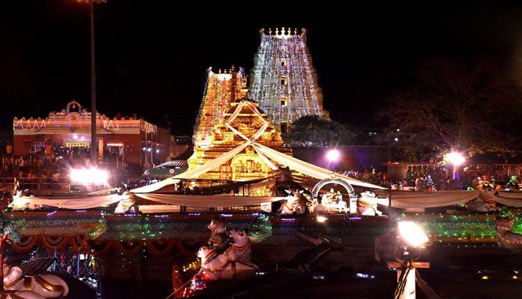 శ్రీశైలంలో ఉగాది మహోత్సవాలు.. సరస్వతీ అలంకారంలో అమ్మవారు