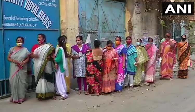 బెంగాల్లో ఐదో దశ ఎన్నికల పోలింగ్ షురూ