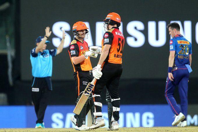 IPL 2021: బెయిర్స్టో మెరుపులు..రైజర్స్కు అదిరే ఆరంభం