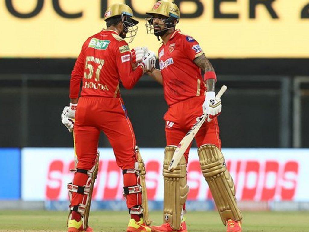 IPL 2021:రాహుల్, హుడా మెరుపులు.. పంజాబ్ భారీ స్కోర్