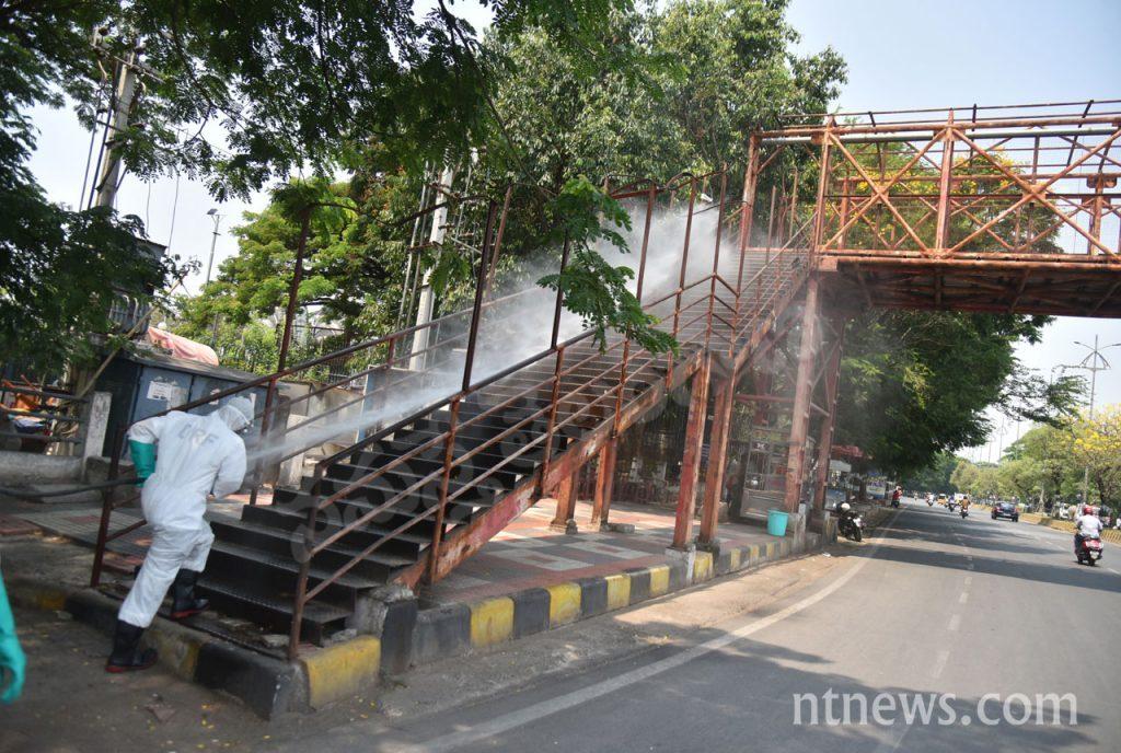శానిటైజ్ హైదరాబాద్