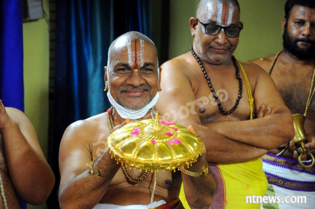 భద్రాద్రిలో శ్రీరామ పట్టాభిషేకం