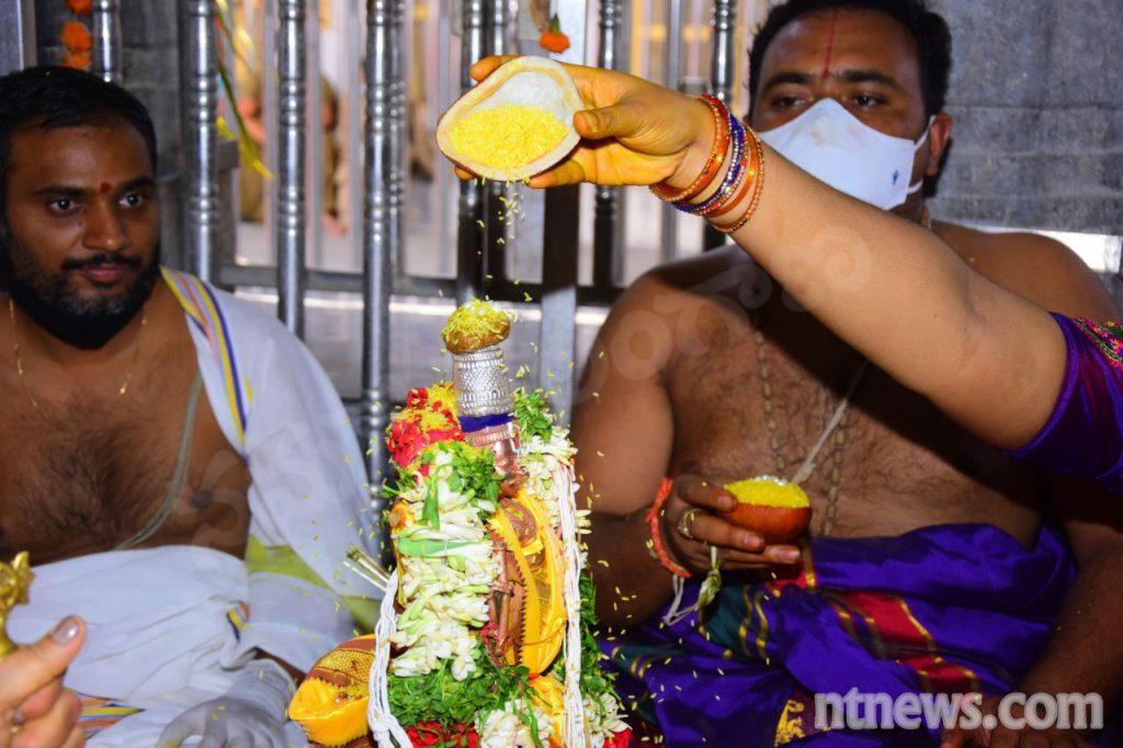 రాజన్న ఆలయంలో రామయ్య కల్యాణం