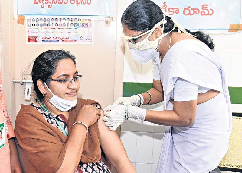Vaccination @ 126 Day's.. 19.32 కోట్ల డోసుల పంపిణీ
