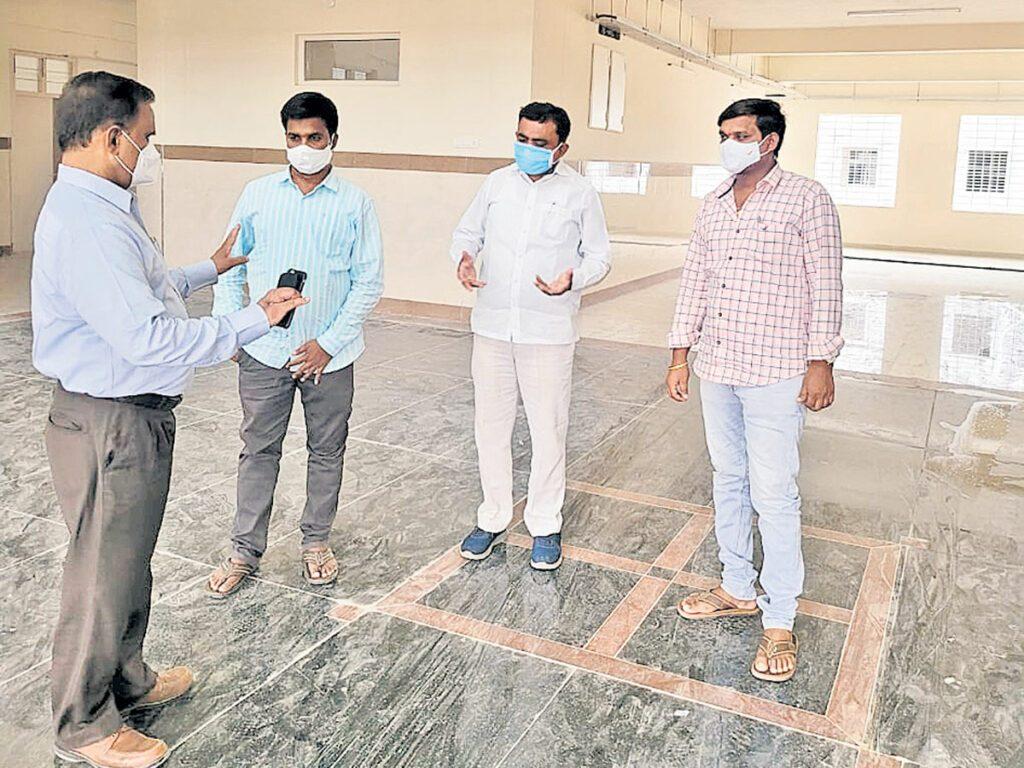 దుబ్బాకలో రూ.75 లక్షలతో ఆక్సిజన్ ఉత్పత్తి కేంద్రం