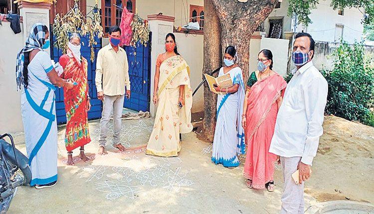 'మేడ్చల్'లో 35 కేంద్రాలలో టీకాలు