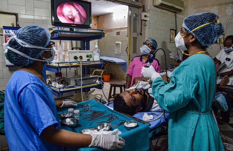 అంటువ్యాధుల జాబితాలోకి 'బ్లాక్ ఫంగస్'
