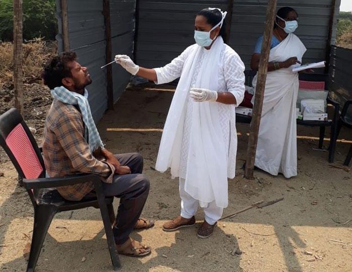 జిల్లాలో తగ్గుతున్న కరోనా పాజిటివ్ కేసులు