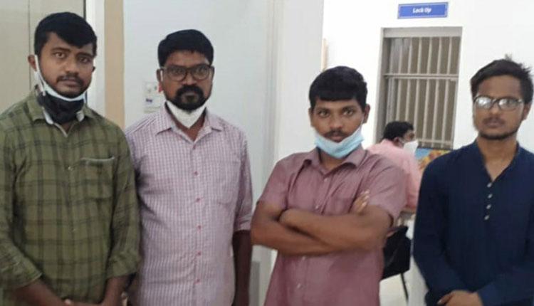 రెమ్డెసివిర్ బ్లాక్ మార్కెట్.. కరీంనగర్లో నలుగురు అరెస్టు