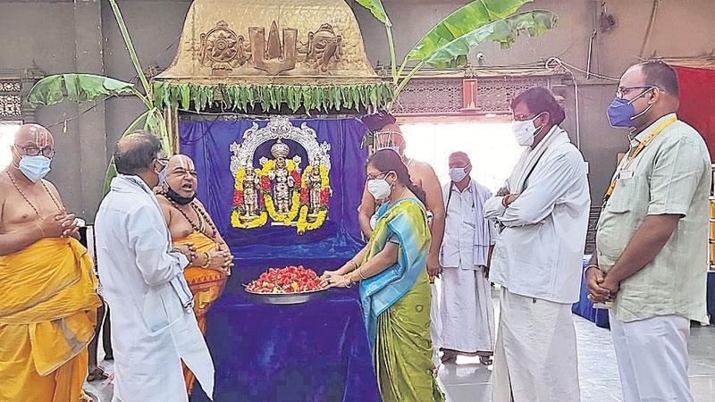 నృసింహుడి జయంత్యుత్సవాలకు శ్రీకారం