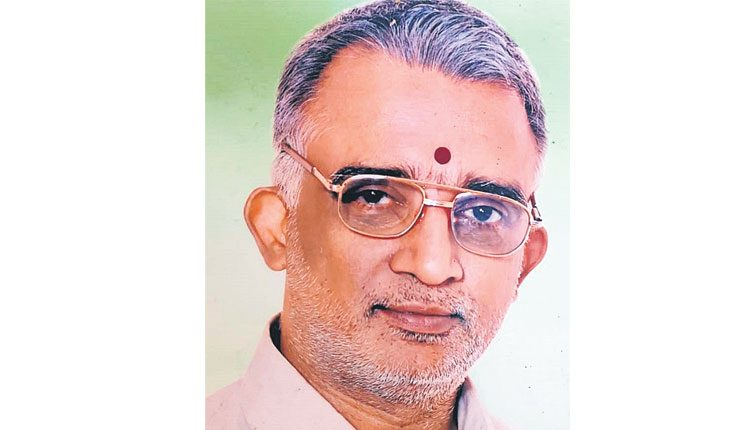 'బల్కంపేట' ఉప ప్రధానార్చకుడు యోగానందాచార్యులు మృతి