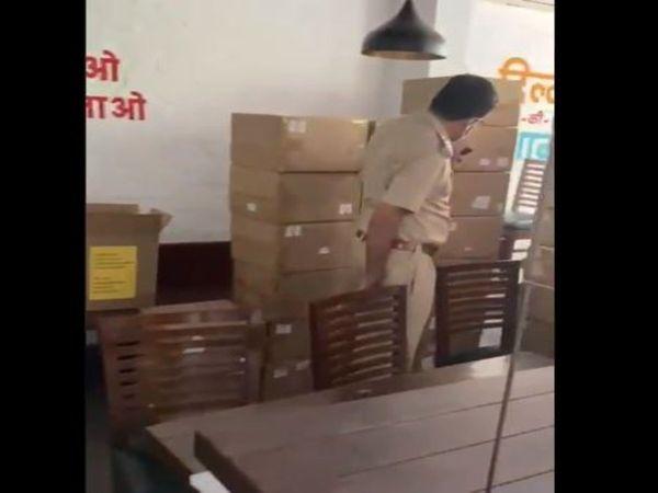 రెస్టారెంట్ లో బ్లాక్ దందా : 93 ఆక్సిజన్ కాన్సంట్రేటర్లు పట్టివేత