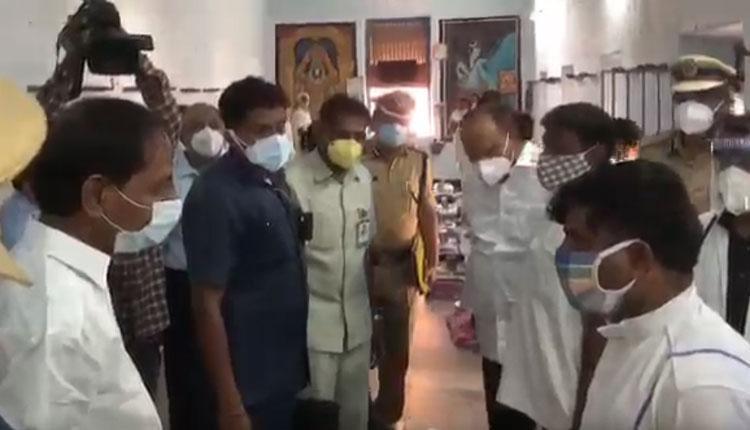 వరంగల్ సెంట్రల్ జైలును సందర్శించిన సీఎం కేసీఆర్