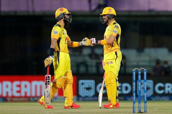 IPL 2021: రాయుడు 27 బంతుల్లో 72..చెన్నై స్కోర్ 218