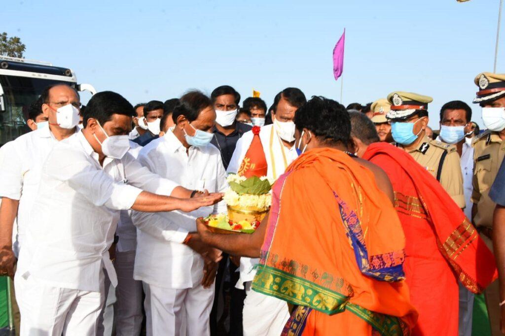 కామారెడ్డి కలెక్టరేట్, ఎస్పీ ఆఫీసు ప్రారంభోత్సవం