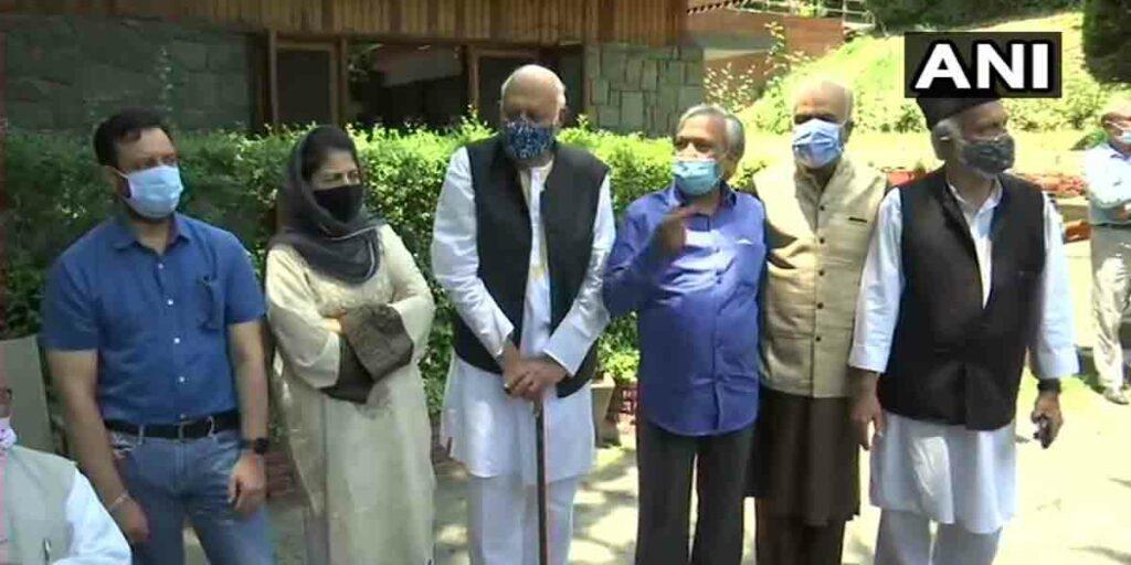 ప్రధానితో భేటీకి వెళ్తాం.. : గుప్కర్ కూటమి