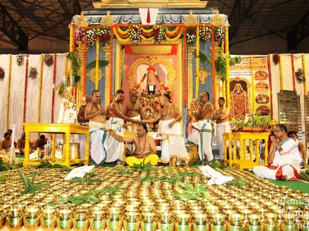 జూన్ 20న శ్రీవారి ఆలయంలో ప్రత్యేక సహస్ర కలశాభిషేకం…