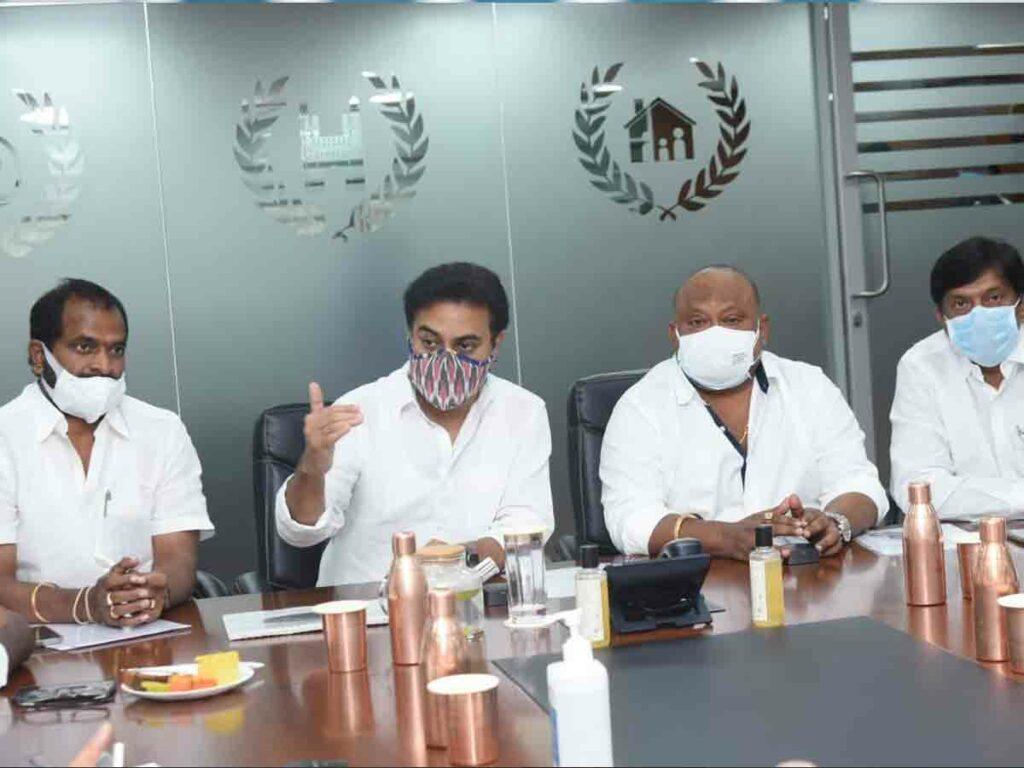 మానేరు రివర్ ఫ్రంట్ ప్రాజెక్టుపై మంత్రుల సన్నాహక సమావేశం