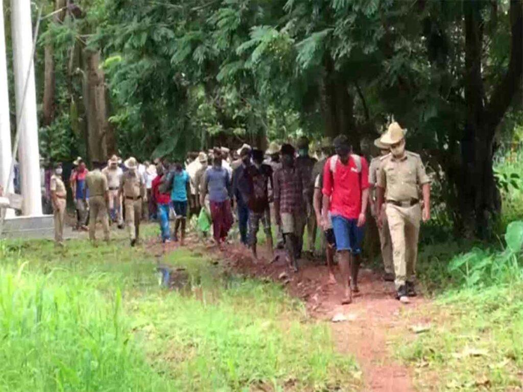 కర్ణాటకలో 38 మంది శ్రీలంకన్ల అరెస్ట్