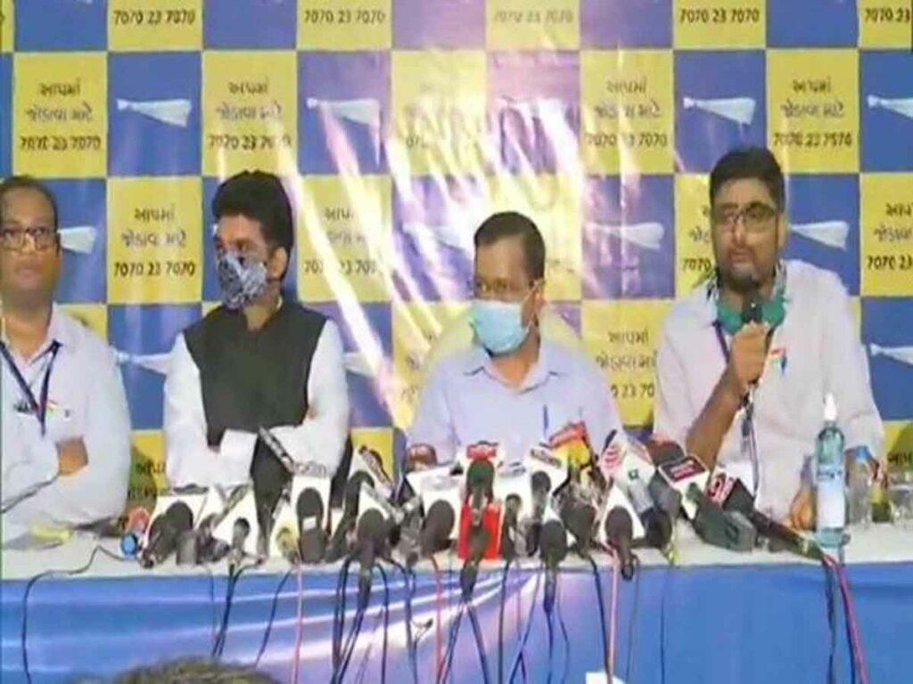 గుజరాత్ అసెంబ్లీ ఎన్నికల్లో అన్ని స్థానాలకు ఆమ్ ఆద్మీ పోటీ: కేజ్రీవాల్