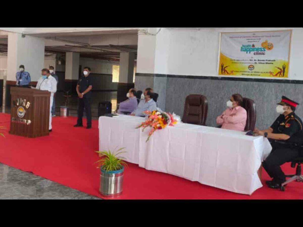 బీబీనగర్ ఎయిమ్స్లో హెల్త్ అండ్ హ్యాపీనెస్ క్లినిక్ ప్రారంభం