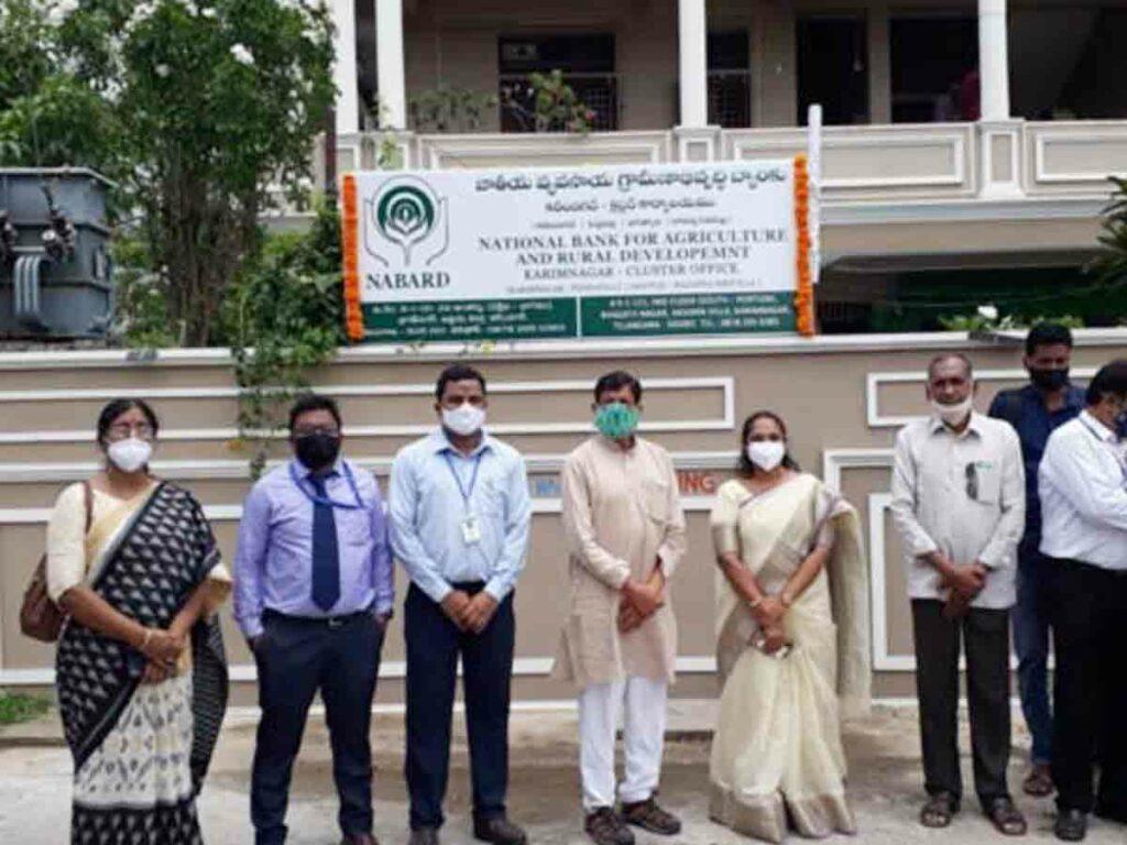 కరీంనగర్లో నాబార్డ్ క్లస్టర్ కార్యాలయం ప్రారంభం