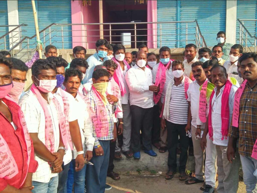 కాంగ్రెస్ నుంచి టీఆర్ఎస్లో చేరికలు