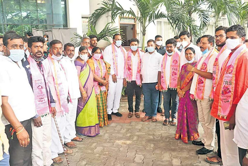 జవహర్నగర్లో కాంగ్రెస్ ఖాళీ..!