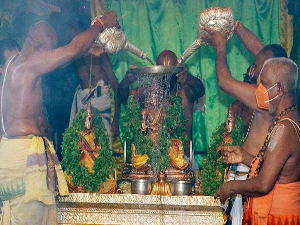 ముగిసిన శ్రీ గోవిందరాజస్వామివారి జ్యేష్ఠాభిషేకం
