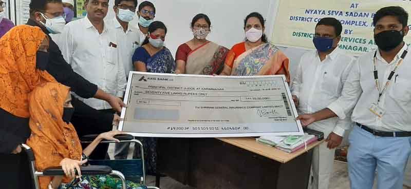లోక్అదాలత్లో 5645 కేసులు పరిష్కారం