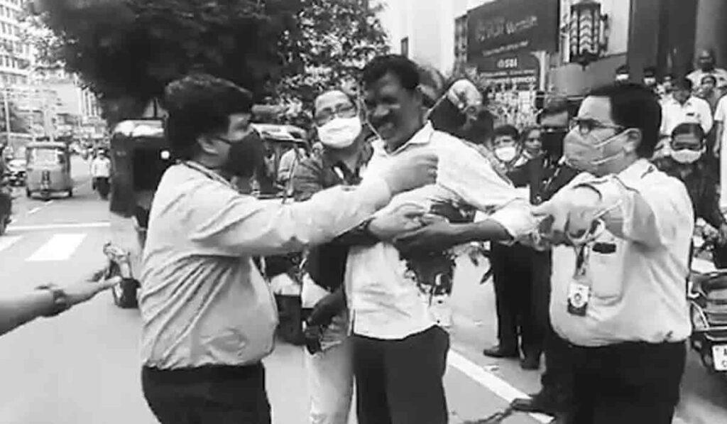 హైదరాబాద్లో కాల్పుల కలకలం..