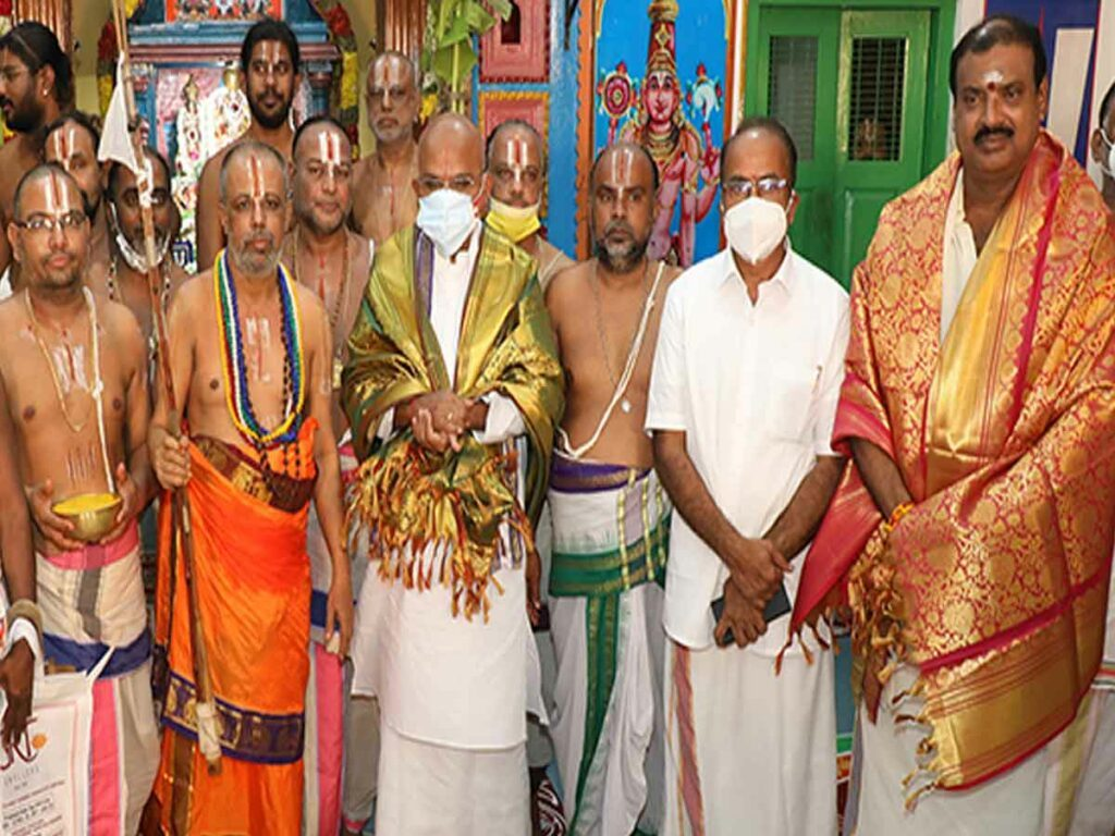ఘనంగా గోవిందరామానుజ చిన్నజీయర్స్వామివారి షష్టిపూర్తి మహోత్సవం