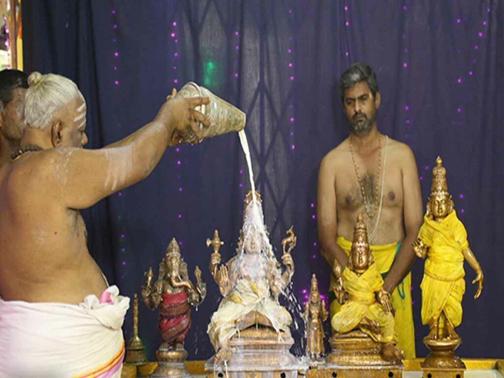 శ్రీ కపిలేశ్వరాలయంలో పవిత్రోత్సవాలు ప్రారంభం