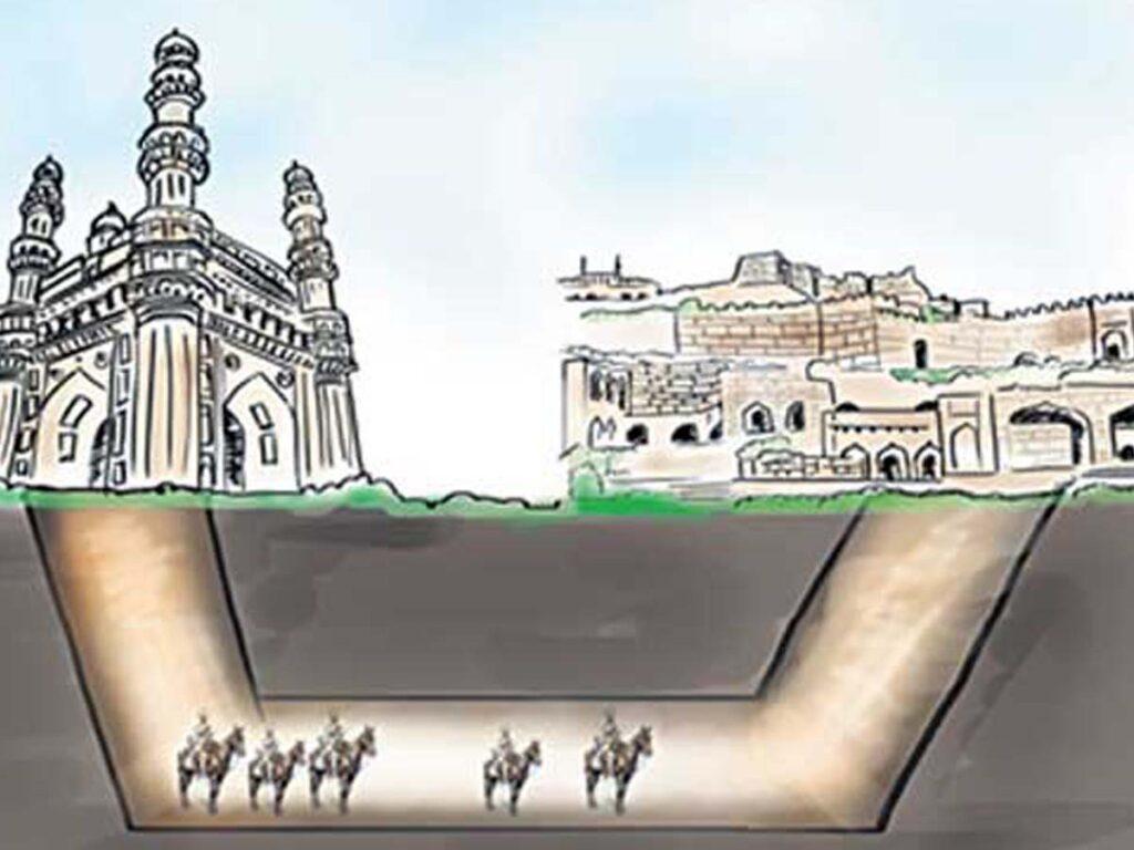 Charminar-Golconda| టన్నెల్పై హైదరాబాదీల్లో చర్చోపచర్చలు.. గుప్త నిధులుంటాయా?!