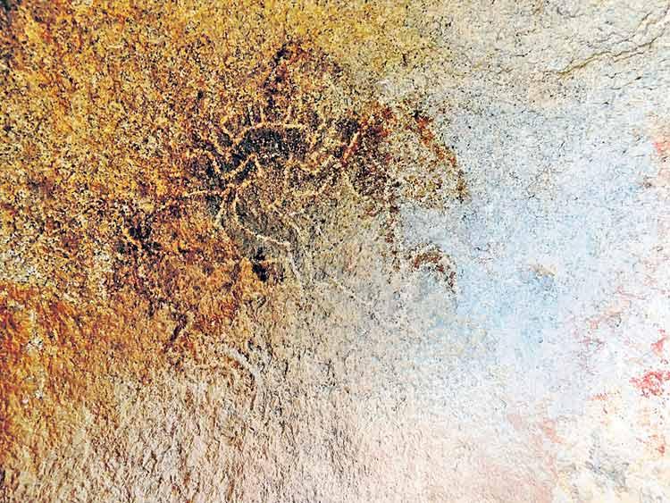 రాచకొండలో వెలుగు జూసిన సింగభూపాలుడి చిత్రం