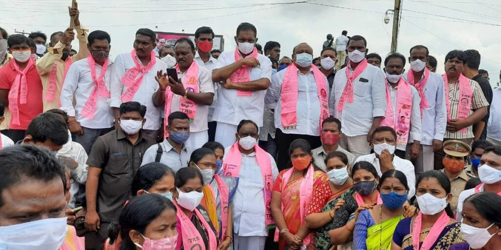 హుజూరాబాద్లో దళిత బంధు సంబురాలు